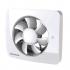 Svensa (Vent-Axia) app-gestuurde badkamerventilator - geur, vocht & lichtsensor - 140m3/h - Ø100 & Ø125mm