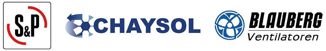 Boxventilatoren van Blauberg, S&P en Chaysol