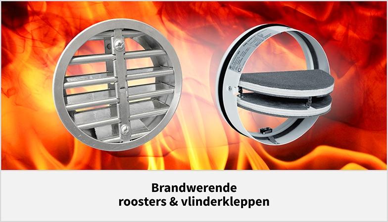 Brandwerende vlinderkleppen, brandkleppen en ventilatie roosters - Ventilatietotaal