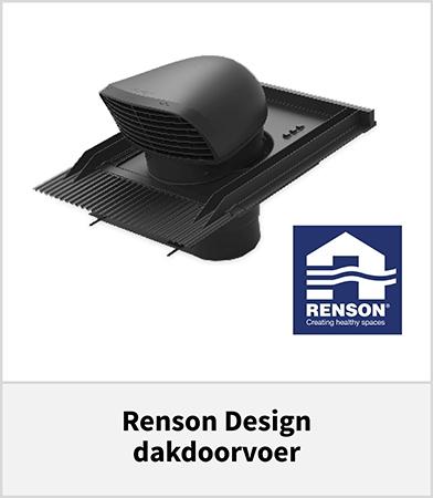 Renson design dakdoorvoer ventilatie